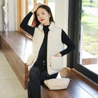 【春节特惠 一件五折】马甲 女士短款宽松面包服棉衣背心冬季新款韩版女式时尚休闲舒适百搭学生女装外套