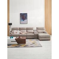 头等太空智能舱沙发小户型轻奢客厅组合科技布电动多功能沙发