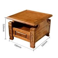 实木沙发组合现代中式香樟木客厅家具小户型多功能木质沙发 其他