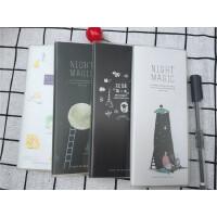 韩版创意学生胶套笔记本 记事本小日记本随身携带标签本子胶套单词本