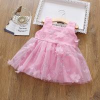宝宝连衣裙 一二岁女童裙子背心纱裙儿童公主裙婴儿夏装
