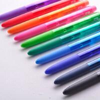 日本uni三菱UMN-155低阻尼中性笔水笔0.38/0.5mm K6版笔芯考试专用笔彩色签字笔水性笔少女心学生文具