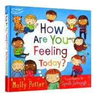 你今天感觉怎么样 英文原版绘本 How Are You Feeling Today 精装 全英文版儿童心理成长情绪控制