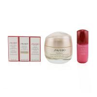 资生堂 Shiseido 盼丽风姿小雷达保湿弹力面霜组合(干性肌肤): 小雷达面霜 50ml + 洁面泡沫 5ml +