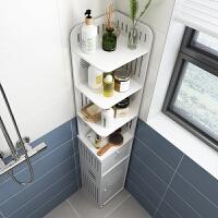 【新品特惠】浴室置物架免打孔壁挂落地洗衣机卫生间防水边柜厕所洗手间收纳架