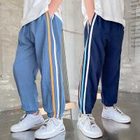 男童裤子夏季薄款儿童中大童休闲裤运动裤男孩长裤