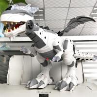 超大号仿真机械龙电动霸王龙走路智能机器人恐龙儿童男孩玩具模型