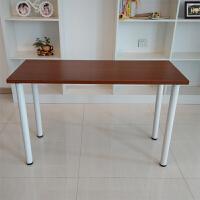 简易电脑桌台式培训桌简约书桌办公桌子餐桌椅组合