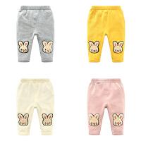 女童婴儿裤子新款女宝宝打底裤4-7-9个月韩版儿童装春秋装