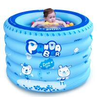 UNME/优敏 婴儿游泳池 保温充气婴幼儿童宝宝游泳池戏水池大号游泳桶