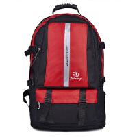 20180628221455676男士大容量双肩包户外旅行包防水尼龙包双肩背包男女包加大行李包