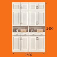 北欧鞋柜简约现代门厅柜储物柜多功能实木组合对开门衣帽柜阳台柜 组装