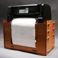 快递单针式发票据桌面柜子办公放打印机的架子置物架创意收纳架 4层