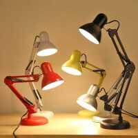 【满减优惠】LED护眼台灯 学生学习宿舍书桌阅读直播补光插电家用床头超亮夹灯