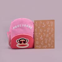 Paul Frank大嘴猴 PL0667 可爱伙伴-儿童书包粉色 单个销售 当当自营