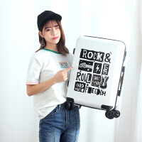 韩版行李箱男女通用个性小清新拉杆箱万向轮时尚旅行箱登机箱20寸