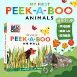 顺丰发货 英文原版 My First Peek-a-Boo Animals 躲猫猫的动物书 The World of