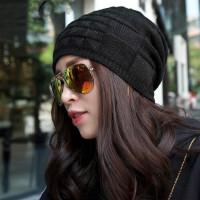 帽子女韩版潮百搭女士加厚时尚针织帽护耳保暖毛线帽