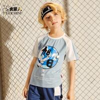 【专区任选3件99元】小虎宝儿童装儿童短袖T恤纯棉男童韩版洋气体恤2020夏季新款中大童半袖上衣
