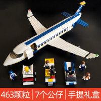 儿童�犯呋�木拼装玩具益智力动脑飞机模型拼图小学生8岁男孩礼物6