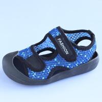 男童凉鞋女童鞋子宝宝小男孩包头儿童中大童夏季