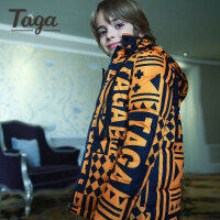 TAGA童装 冬装新款童装男童儿童宝宝羽绒服休闲外出服