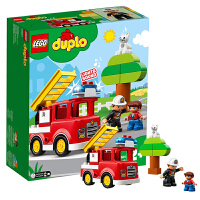 【当当自营】乐高LEGO 得宝系列 10901 鸣笛消防车