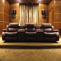 家庭影院沙发头等太空飞机舱电动功能影音室影视厅影吧影咖沙发 组合