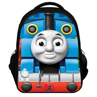 托马斯书包儿童双肩3D幼儿园背包小学生1-4年级男孩 2-12岁超轻 3d1号适合1-4年级送精美礼品