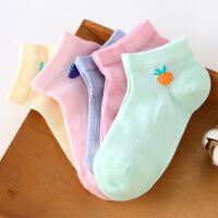 【2件3折价:32】小猪班纳童装袜子儿童短袜(五双装)