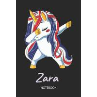 【预订】Zara - Notebook: Blank Lined Personalized & Customized