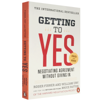 现货正版 谈判力 英文原版 Getting to Yes 经济管理书 哈佛大学谈判指南 Roger Fisher 全英