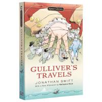 【中商原版】格列弗游记 英文原版 经典文学 Gulliver's Travels Jonathan Swift Sign