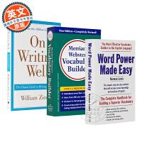 韦氏词典 Word Power Made Easy 英文原版 单词的力量 韦小绿 On Writing Well 英文