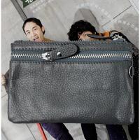 经典复新款韩版真皮女式钱包 卡包 拉链钥匙包 牛皮零钱包 手机包