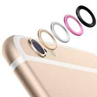 iPhone6S镜头保护圈 苹果6手机摄像头环iphone6 金属镜头环