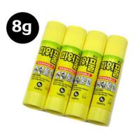 韩国固体胶8g无毒安全 南韩固体胶 韩国原装进口胶棒 粘贴固体胶一口价一支8g