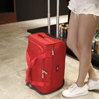 新款站得稳不侧翻 旅行包男可折叠拉杆包女多功能防水行李包登机包