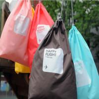 束口收纳袋 旅行用品 出差旅游杂物抽绳袋 内衣整理袋 4件套