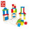 【特惠】Hape榉木50块彩虹积木1-6岁大块木制进口榉木儿童玩具婴幼玩具E8003