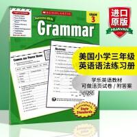 华研原版 美国小学三年级英语语法练习册 学乐进口原版英语教材 Scholastic Success with Gram