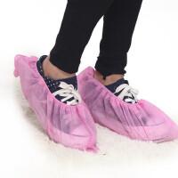 无纺布鞋套 一次性鞋套 学校机房家用 防滑加厚耐磨100只