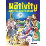 The Nativity Activity and Coloring Book (【按需印刷】)