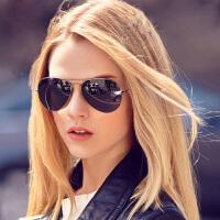 夏日时尚偏光太阳镜眼镜复古蛤蟆镜 防紫外线时尚男女护目眼镜