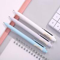 得力S36 中性笔碳素笔水笔签字笔文具书写笔 0.5mm黑色 单支