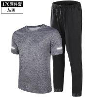 【速干衣裤 速干服】运动套装男夏季薄款跑步健身服短袖足球长裤速干T恤夏天运动衣服
