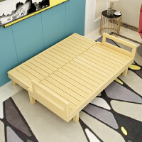 可折叠实木沙发床小户型飘窗榻榻米懒人躺椅靠背椅子两用沙发床 1.8米-2米