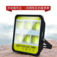 led投光灯100W200W400W户外防水广告牌投射灯厂房工地工程路灯