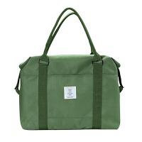 韩版短途旅行包女手提便携简约防水拉杆行李袋出差旅行袋男大容量 大