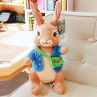 彼得兔公仔可爱兔子毛绒玩具儿童抱着睡觉布娃娃小女孩比得兔玩偶